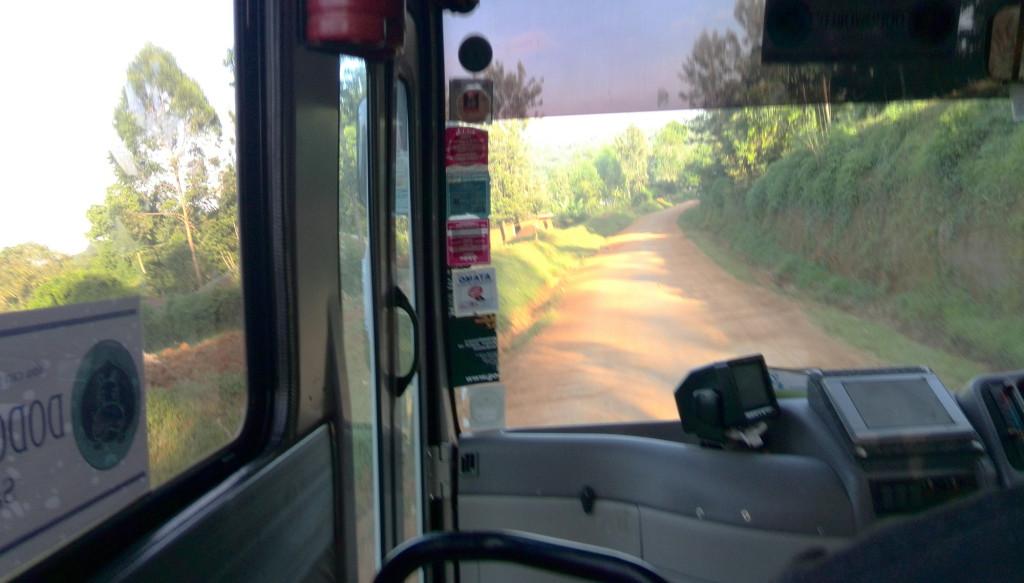 ゲムイースト村へ向かう道